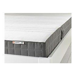 morgedal latex mattress medium firm dark grey memory foamlatex