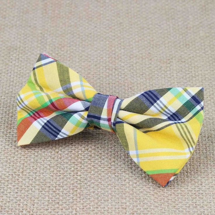 Superior Mens Fashion Double Fracture Artificial 100% Cotton Soft Striped Rainbow Butterfly Men Bow Ties Designer Cravat