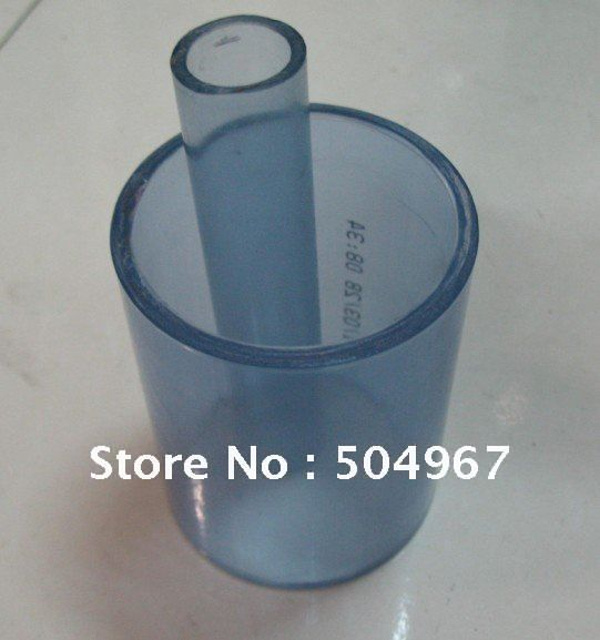 clear pvc pipe/ upvc pipes/ DN15,outside diameter is 20mm,if order 1meter, will cut as 0.5m/pc for shipping