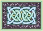 Amazing cross-stitch Celtic knot patterns at Ellie's Store.