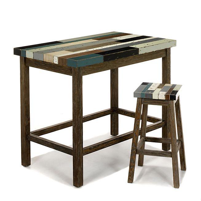 1000 id es sur le th me table haute sur pinterest table - Table haute cuisine alinea ...