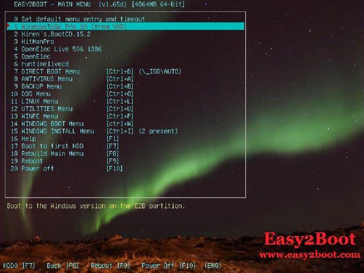 Cara mudah dan praktis membuat menu pilihan untuk bootable OS