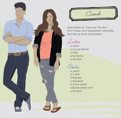 Greek Gentleman: Infographics για τα πλαίσια ένδυσης (dress code)