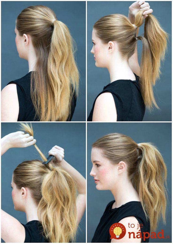 Nemáte ráno čas na zložitú úpravu vlasov a preto je vašou najčastejšou voľbou obyčajný chvost či rozpustené vlasy? Prinášame vám tipy na super jednoduché účesy, ktoré vytvoríte za pár sekúnd!