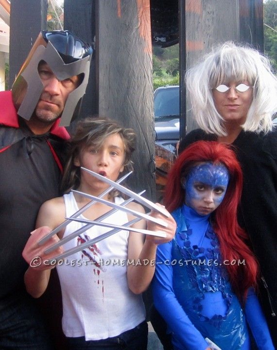 52 best xmen costumes images on pinterest fancy dress halloween family takes on halloween with awesome xmen costumes solutioingenieria Images