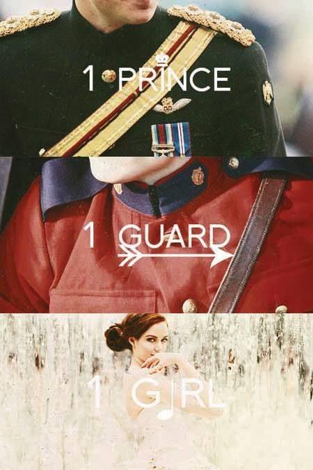1 Prince - 1 Guard - 1 Girl