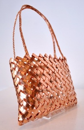 To hang on the wall... Copper Kete by Anna Gedson.