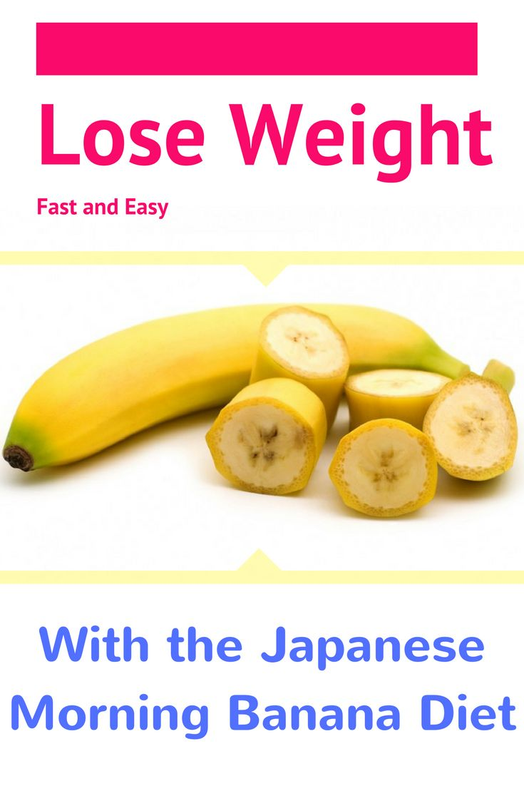 How to Lose Weight Fast and Easy With the Japanese Morning Banana Diet http://www.4myprosperity.com/the-2-week-diet-program/