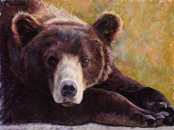 """One of my favorite paintings in 2011.  It's called """"Da Bear"""""""