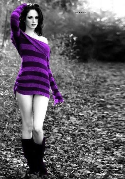 Gothic Girl  Gothic  Color, Color Splash E Photo Colour-9221