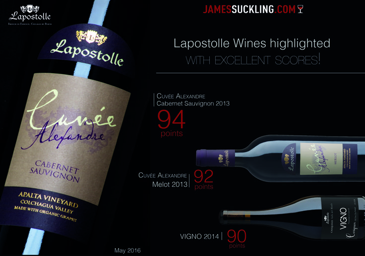 James Suckling highlighted Lapsotolle with excellent scores!