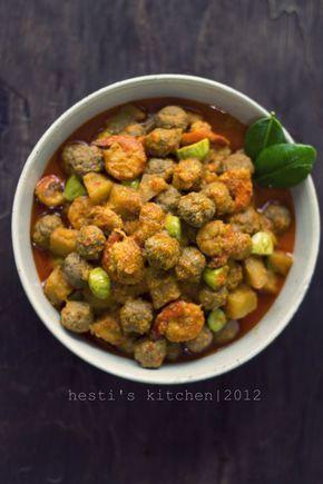 HESTI'S KITCHEN : yummy for your tummy: Sambel Goreng Printil
