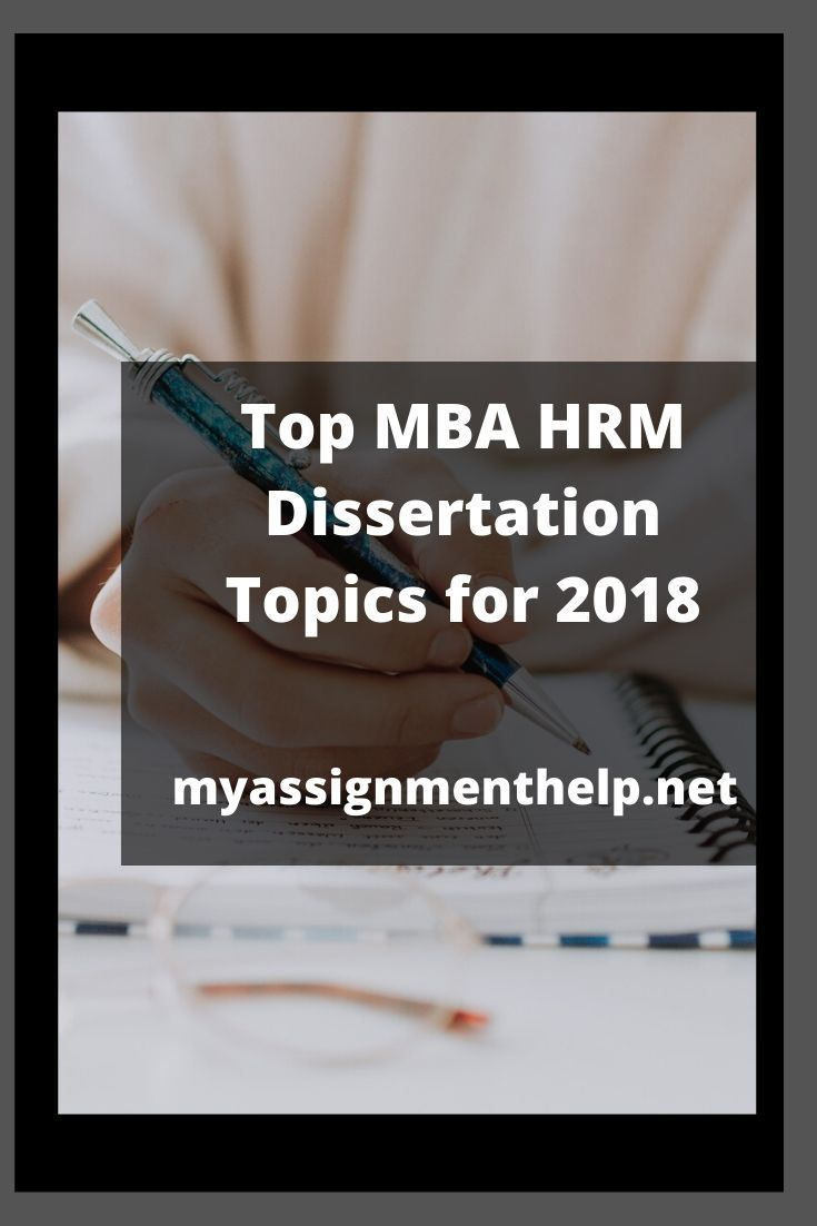 Top Mba Hrm Dissertation Topic For 2018 Human Resource Management How To Motivate Employees In