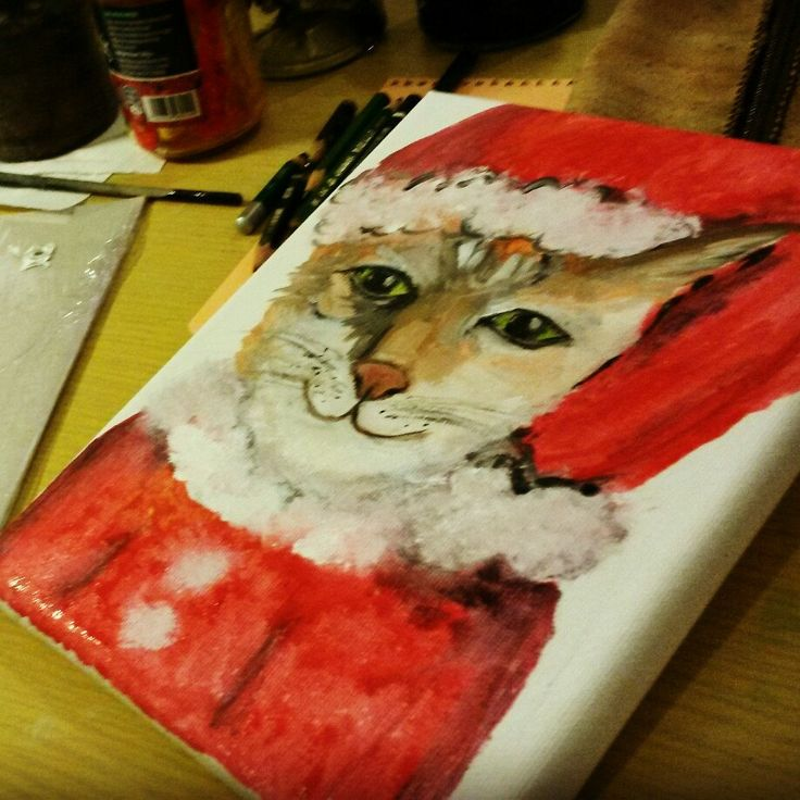 I love Christmas and Cats!!!