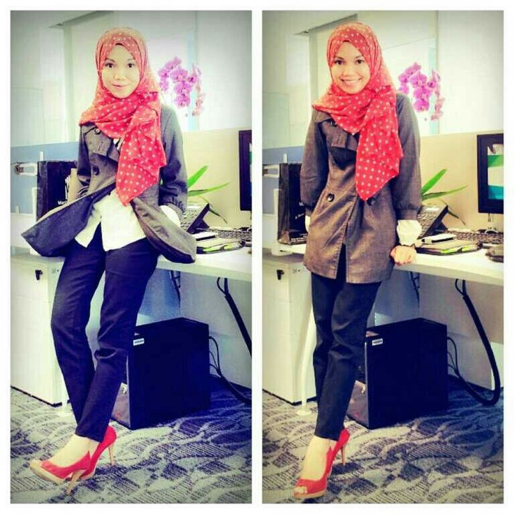 Hijab office outfit