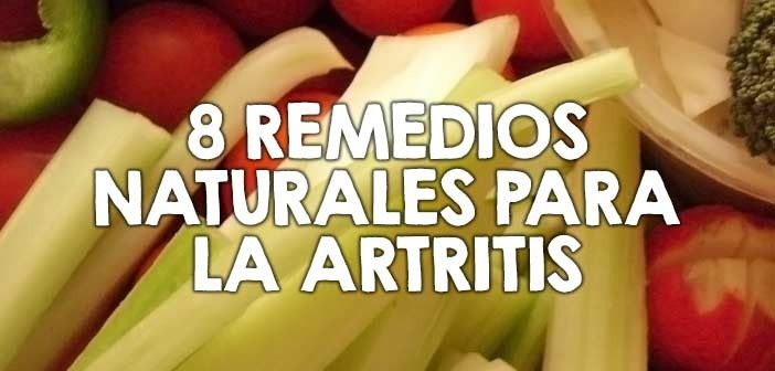 8 remedios naturales para la artritis