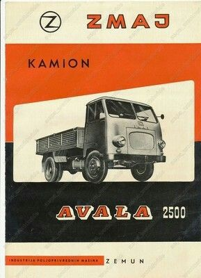 truck Zmaj Avala 2500