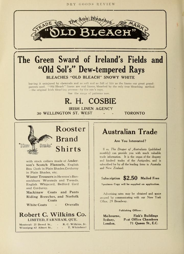 Style, July to December (1912)