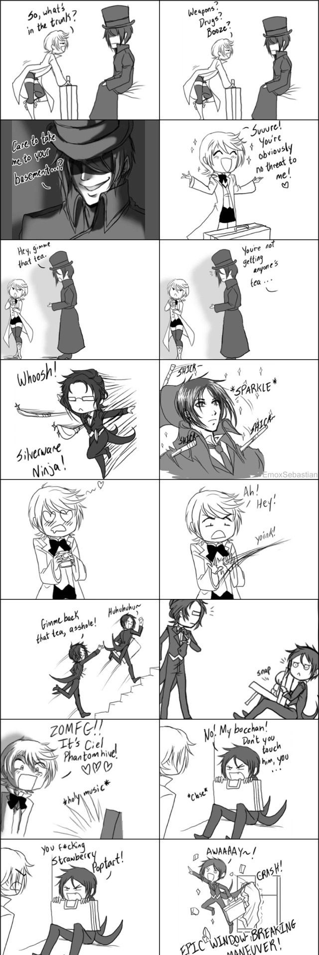 This is exactly what happened.... I just laughed so hard at this.