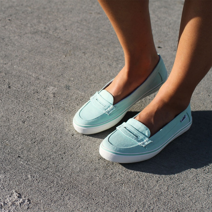 Noodles Kon Tiki - loafer mint (in stores March '13) #loafers #mint #teal