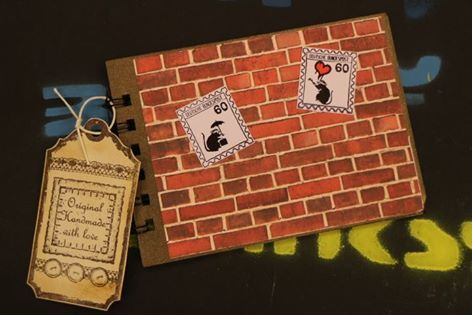 """Briefmarken-Album"" #Banksy"