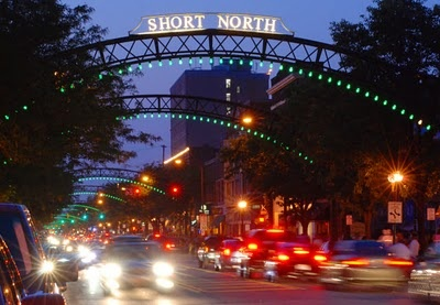 The Short North Arts District in Columbus, Ohio - must visit one of these days....love this photo