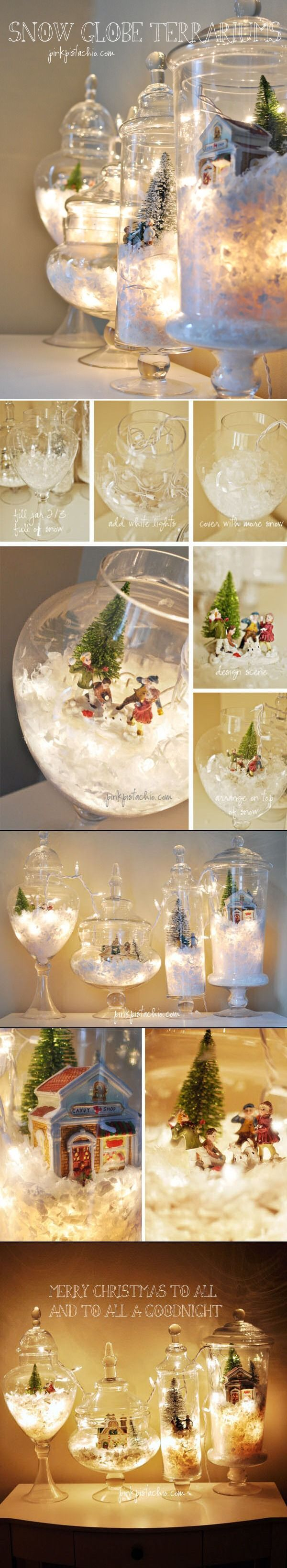 DIY Snow Globe Terrariums Pictures, Photos, and Images for Facebook, Tumblr, Pinterest, and Twitter