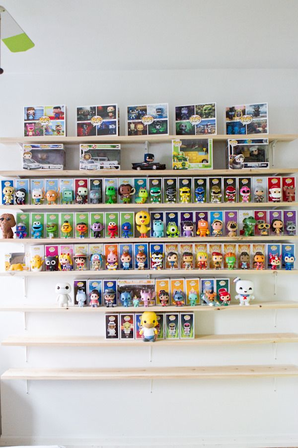 Remember the time we build shelves to display  our Funko POP collection?   Our collection has continued to grow and now here we are needing ...
