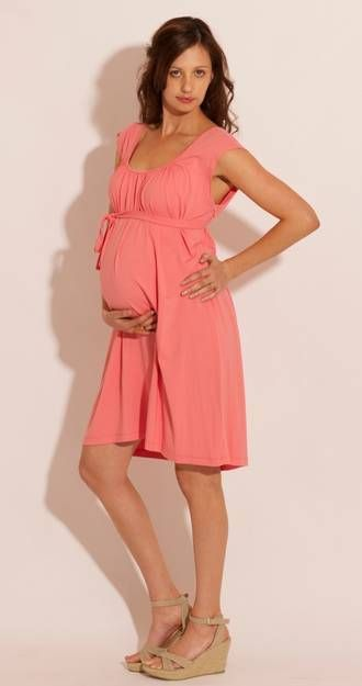 The perfect lightweight & fun dress when pregnancy gets hot 'n' heavy (no, Not that kind of Hot 'n' heavy..we all know that doesn't exist in pregnancy. Plus that colours is to die for! #pregolipregnancy