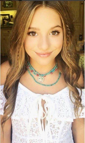 "{ Mackenzie Ziegler } ""Hi! I'm Mackenzie, but most people call Me Kenzie!"" I'm 16 and single,"" bite my lip ""I have an older sister Maddie who is pretty protective of me but, I love her!"" I smile ""I dance and sing a lot! Maddie dances too!"" I giggle ""Come introduce yourself!"""