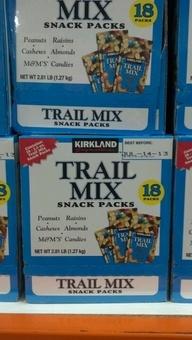 Kirkland Signatures: Trail Mix Snack Packs. http://affordablegrocery.com