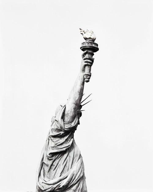 lady liberty • via goffgough