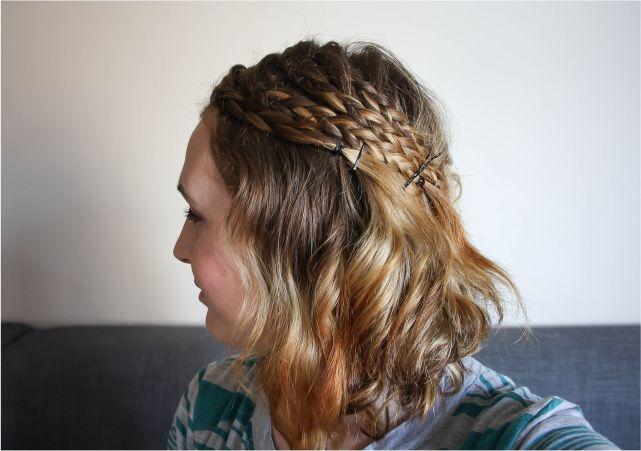 Soft curls & side braids #beauty #beautyblogger #beautyblog #bblogger #bblog #hair #bob #shorthair #hairstyle