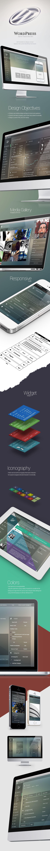 WordPress Admin Theme Redesign by George Kordas