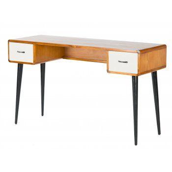 Libra Furniture Multicoloured Retro Console Writing Desk