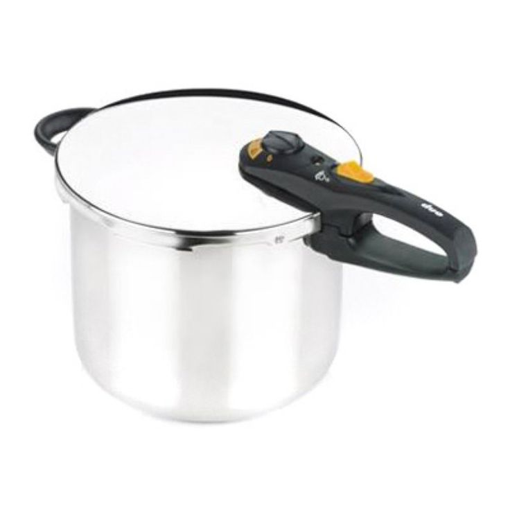 Fagor Duo 10 Quart Stainless Steel Pressure Cooker Canner - 918060796