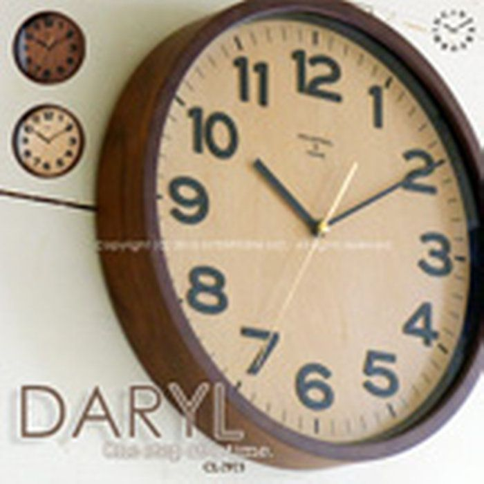 DARYL[ダリル]■電波時計|壁掛け時計【インターフォルム】