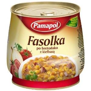 Pamapol Baked Beans with Sausage Fasolka po Bretonsku z Kielbasa 920 g (Pack of 3): Amazon.co.uk: Grocery