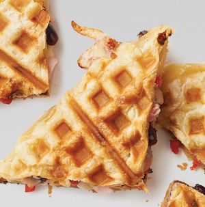 Let everyone build their own Hot-Off-The-Press Panini for dinner tonight. Let them choose which Hy-Vee deli meat to pile on their sandwich before grilling it in the waffle maker.
