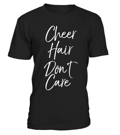 "# Cheer Hair Don't Care Shirt Funny Cheerleader Tee .  Special Offer, not available in shops      Comes in a variety of styles and colours      Buy yours now before it is too late!      Secured payment via Visa / Mastercard / Amex / PayPal      How to place an order            Choose the model from the drop-down menu      Click on ""Buy it now""      Choose the size and the quantity      Add your delivery address and bank details      And that's it!      Tags: Cheer hair don't care shirt funny…"