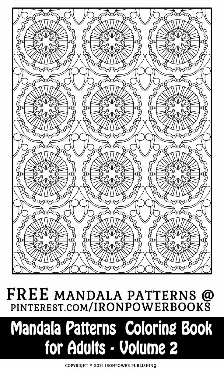 Therapeutic coloring pages for adults - Patterns For Adults Art Therapy For Kids And Adults To Enjoy This Is Geometric Mandalaadult Coloring Pagescoloring