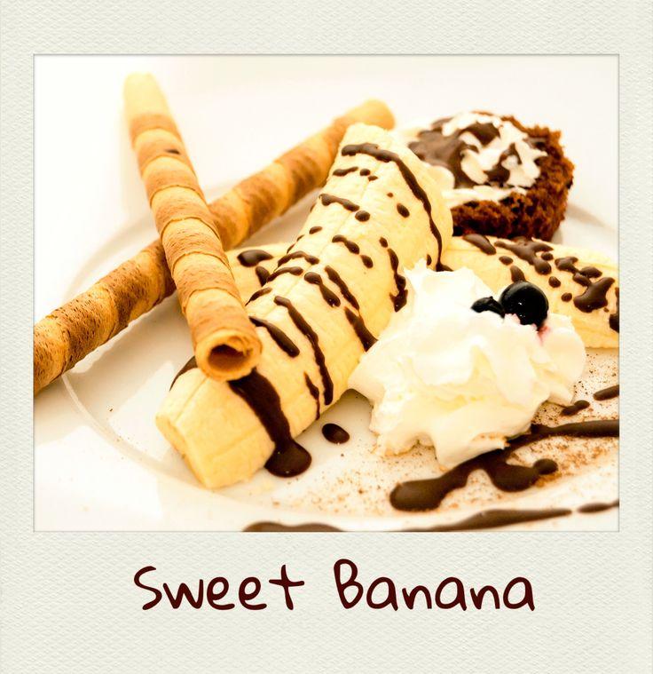 #Sweet #Banana. #PolaroidFx #Polaroid #Collage #USA #NewYork #Fruit #Chocolate #IceCream #Homemade #Dessert #Food #Yummy #Love