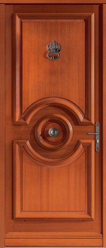 Porte bois, Porte entree, Bel'm, Classique, Poignee plaque rustique, Cache fiches rustique, Sans vitrage, Castellane