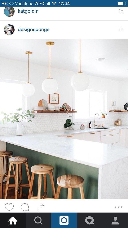 Grünes esszimmer design  besten vg küche bilder auf pinterest  long beach haus
