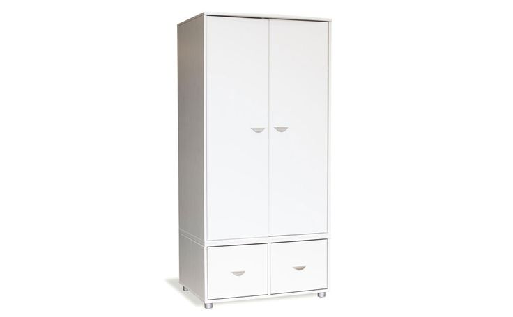 Stompa Uno White Combination Wardrobe Only £399.99 | Furniture Choice