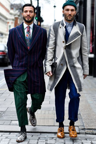 London Fashion Week Men's AW17: the strongest street style