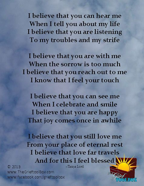 I believe Love has no limitations A Poem | The Grief Toolbox