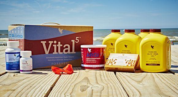 Vital5 biedt de 5 sleutel producten samen de basis vormen voor een vitaal leven. Wanneer deze 5 kernproducten gecombineerd worden,  zorgen zij voor het fundament voor ieder op maat gemaakt voedingsprogramma. Ook als u gezond eet, kunnen voedingssupplementen een goede aanvulling zijn op uw dagelijkse voeding. Meer informatie en bestellen http://Quality-For-Life.flp.com