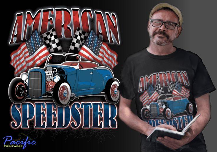 American Speedster t shirt