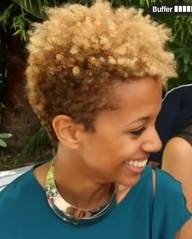 carly cushnie- my hair crush! I want the top cinnamon instead of blonde.